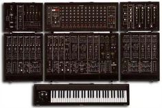 """Roland System 700 - a.k.a. The Holy Grail. """"Don't know what you've got 'til it's gone..."""" I had two years to play with one of these glorious beasts, and the realization hit years ago that this probably won't happen again. Unreal experience."""