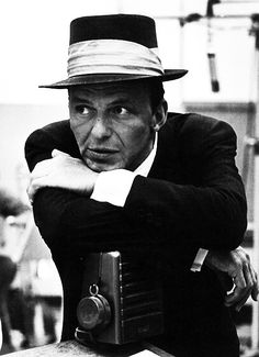 Frank Sinatra--love how he makes the world romantic and soft around the edges...