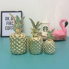 Abacaxi decorativo - Fora da Caixa Loja   Presentes e Decoração