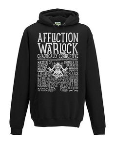 World of Warcraft Class Specialization / Roleplaying / Fantasy Inspired Hoodie - Affliction Warlock - Clothing, Art Prints and Posters Available now! #worldofwarcraft #wowwarlock #afflictionwarlock #worldofwarcraftwarlock #warcraftart #warlockart #realmone #realmonestore #rpgclass #warlocktshirt #worldofwarcrafttshirt #worldofwarcrafttee