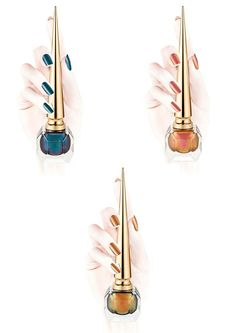 Christian Louboutin OFF!>> Christian Louboutin Scarabee Nail Colour Available Now Makeup And Beauty Blog, Beauty Bar, Beauty Make Up, Christian Louboutin Store, Friendly Nails, Romantic Outfit, Romantic Clothing, Blue Green Eyes, Nail Colour