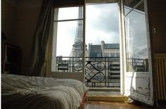 WHEN I go to Paris, I would love this view.