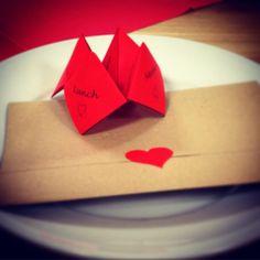 Fun valentines menu fortune teller and recipe love letter