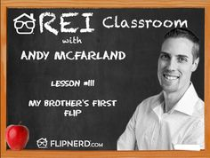 Hear from Andy McFarland as he explains the details of his little brother's first flip.