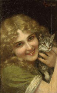 About Art - Talent works, genius creates... : Vittorio Reggianini (Italian, 1858-1938)