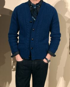 Men's Cardigan Sweaters – A Man's Guide To The Cardigan Sweater   iStreetStyle.com