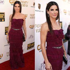 Sandra Bullock's Dress at Critics' Choice Awards 2014