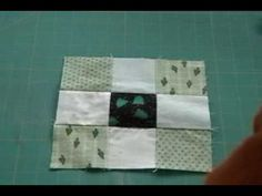 Disappearing 9 Patch Quilt Block