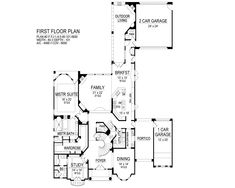Contemporary House Plan with 4 Bedrooms and 5.5 Baths - Plan 9514