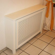 heater cover. I wonder if you could do something like this with the tall old wall heaters?