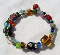 Petite Bohemian Vintage and Recycled Jewelry by cloverandrubies, $12.50