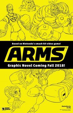 ARMS is getting the comic book treatment