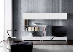 Ensemble meuble TV mural