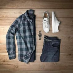 The Appropriate Mens Attire For Every Occasion Cool Outfits For Men, Cute Spring Outfits, Casual Outfits, Men Casual, Fashion Outfits, Fashion News, Men's Fashion, Flannel Outfits, Mens Attire