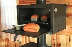Cooking on a wood stove can be done in many ways. Something that will takes advantage of the lost heat from these devices is to add an oven to a wood stove.