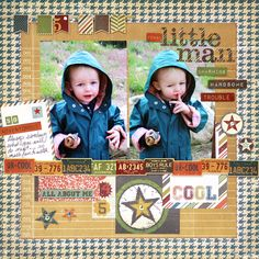 Funny Little Man *Simple Stories* - Scrapbook.com