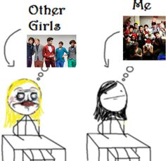Always thinkin' about ma newsises. <--- This is a completely accurate picture
