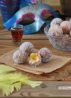 Castagnole, buñuelos italianos. Receta de Carnaval