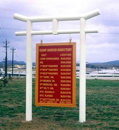Camp Hansen Marine Corps Base  Okinawa, Japan. I will always be a military brat <3 semper fi!