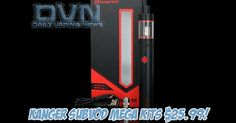 DEAL: We found the best pen style kit out there, the Kanger SUBVOD Mega kit for only $25.99 right now! They come with the 2300mAh battery that works with both kanthal in wattage mode and ni200 in TC mode as well as the Kanger TopTank mini which is the updated version of the SubTank Mini with top fill and other improvements. These are avaiable in 4 colors and are PERFECT for new vapers and current smokers. #vape #vapeon #vapefam #vapelife #ecigs #ecig #vapers #vapecommunity #vapehooligans