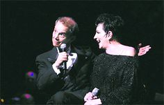Joel Grey and Liza Minnelli at Kravit's center gala. Photo by: Richard Graulich