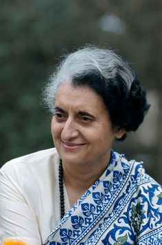 Indian Politician Indira Gandhi (Photo by Henri Bureau/Corbis/VCG via Getty Images) History Of India, Women In History, India For Kids, India Children, Midnight's Children, Indira Ghandi, Indian Freedom Fighters, Rajiv Gandhi, Sonia Gandhi