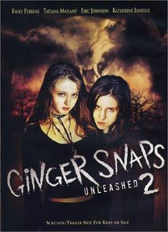 Available in: DVD.The first sequel to the critically acclaimed Canadian horror film Ginger Snaps finds Katharine Isabelle and Emily Perkins Best Horror Movies List, Classic Horror Movies, Scary Movies, Good Movies, Vampire Movies List, Terror Movies, Watch Movies, Horror Movie Posters, Horror Films