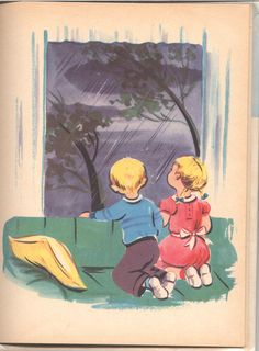 """""""I Think About Jesus"""" by Kate Smallwood, illustrated by Esther Friend (1958)"""