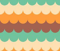 waves_melba fabric by holli_zollinger on Spoonflower - custom fabric