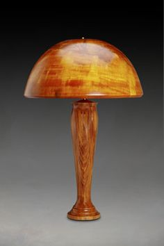 The 98 Best Turned Wood Lamps Images On Pinterest Wood