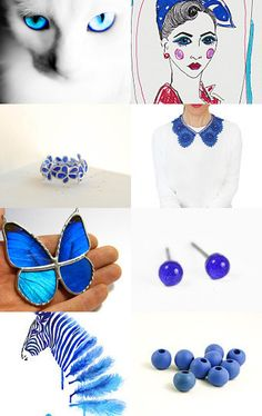 Icy Blue Eyes by Catalina on Etsy--Pinned with TreasuryPin.com