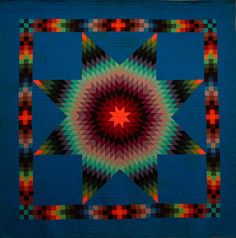 Amish Abstractions Quilts. #quilts
