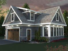Carriage House Plan, 023G-0003