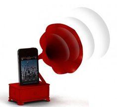 iVictrola Gramophone – 3d-printed iPhone speaker