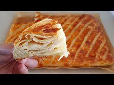 😍YAPILIŞINI GÖRMELİSİNİZ😍BU KADAR PRATİK OLUR MU? 😍YAPTIM OLDU,HEM DE ŞAHANE KETE GİBİ OLDU - YouTube Turkish Recipes, Ethnic Recipes, Baby Knitting Patterns, Hat Patterns, Quiche, Bread, Cookies, Food, Youtube