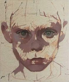 "Saatchi Art Artist Richard James; Painting, ""boy #4"" #art"