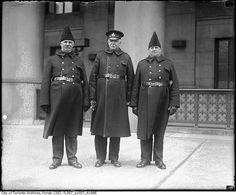 Three policeman, 1925   (by Toronto History via Flickr)