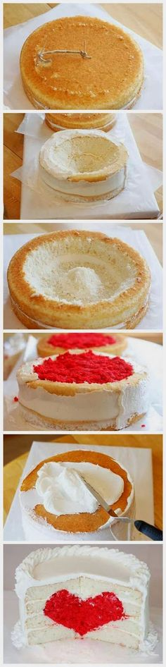 Heart Cake Tutorial - BestFoodRecipes