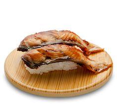 "Sushi ""Unagi"" Japanese eel. the only COOKED sushi i eat... and it's delish!"