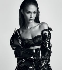 Harper's Bazaar Spain October 2016 Joan Smalls by Txema Yeste