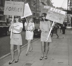 1960s | The Miniskirt as an Expression of 1960s Feminism