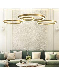 simiglighting.pl|SELLECA Ring LED Pendant Light Led Pendant Lights, Pendant Lighting, Pendant Lamps, Panel Led, Rose Gold Lights, Chrome Plating, Art Deco, Ceiling Lights, Design