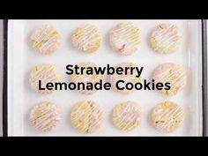 The best of both strawberry and lemon cake-mix cookie worlds!