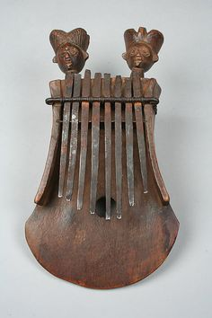 Thumb Piano (Mbira) | 19th–20th century | Angola, Chokwe peoples | Wood, iron, wire