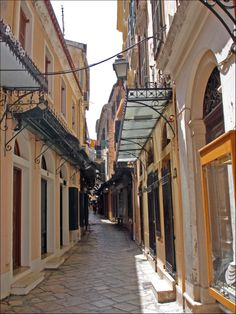 In the heart of the Old Town ~ Corfu  by Ava Babili