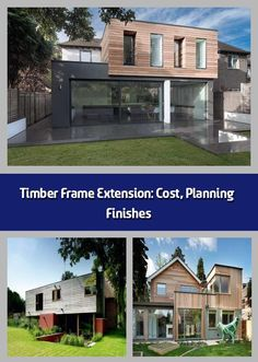 Timber Frame Extension: Cost, Planning & Finishes - A timber frame extension is a great way to add much-needed extra space to your home and offers many benefits. With a timber frame extension, the weathertight stage can be achieved in days rather than weeks, which means less time spent on site, reduced levels of disruption and less dependence on good weather conditions.Once built, a timber frame extension can also offer good levels of thermal performance and airtightness making it suitab...
