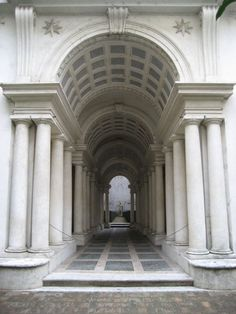Palazzo Spada Roma - illusione di profondità