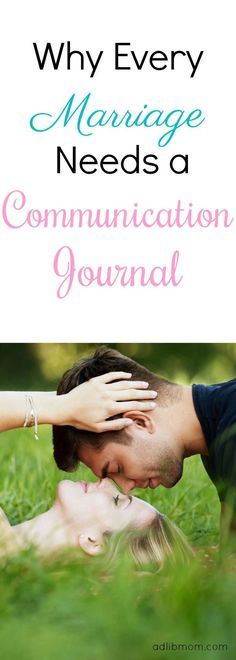 Improve your marriage with a communication journal. Men & women communicate so differently. Sitting down with your spouse once a week will result in deeper intimacy in your marriage!