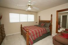 Bedroom view at The Wilson Crossing Apartments in Cedar Hill, TX