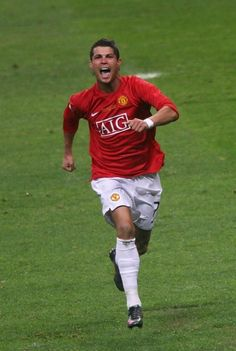 Cristiano Ronaldo Player of Season Cristiano Ronaldo Junior, Cristiano Ronaldo 7, Best Player, Football Players, Manchester United, Premier League, Champion, Soccer, The Unit